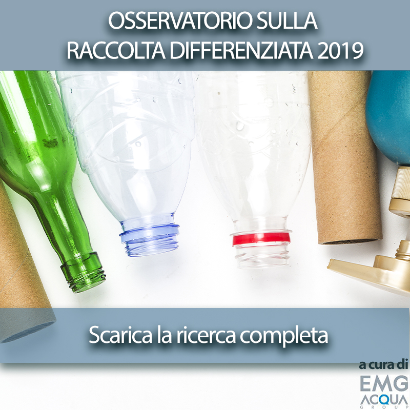 Osservatorio raccolta differenziata 2019